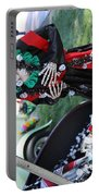 Day Of The Dead Car Trunk Skeleton  Portable Battery Charger