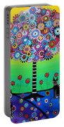 Day Of The Dead Cat'slife Portable Battery Charger