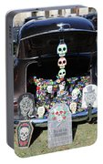 Day Of The Dead Classic Car Trunk Display  Portable Battery Charger