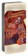 Day Of The Dead Dude Portable Battery Charger