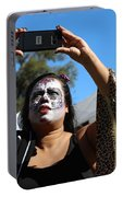 Day Of The Dead Iphone Woman Portable Battery Charger