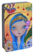 Day Of The Dead Princess Portable Battery Charger