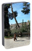 Day Walk In Jerusalem Portable Battery Charger