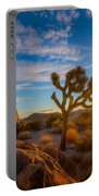 Daybreak At Joshua Portable Battery Charger