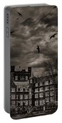 Daydreams Darken Into Nightmares Portable Battery Charger by Evelina Kremsdorf