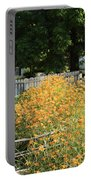 Daylilies In The Spring Portable Battery Charger