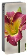 Daylily Delight Portable Battery Charger