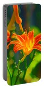 Daylily Trio Portable Battery Charger
