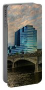 Days End In Grand Rapids Portable Battery Charger