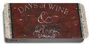 Days Of Wine And Roses Portable Battery Charger