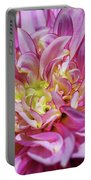 Dazzling Dahlia Portable Battery Charger