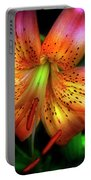 Dazzling Daylily  Portable Battery Charger