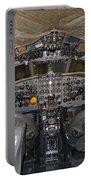 De Havilland Dh106 Comet 4 G Apdb Cockpit Full Size Poster Portable Battery Charger