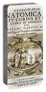 De Motu Cordis, Title Page, William Portable Battery Charger