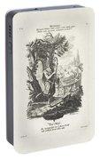 De Wereld, Jeremias Wachsmuth, After Gottfried Eichler II, C. 1758 - C. 1760 Portable Battery Charger