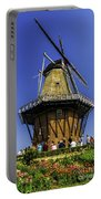De Zwaan Windmill In Holland Portable Battery Charger