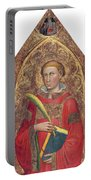 Deacon Saint, With Saint Anthony Abbot Portable Battery Charger