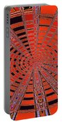 Dead Tree Oval #1 Abstract Portable Battery Charger