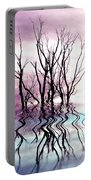 Dead Trees Colored Version Portable Battery Charger