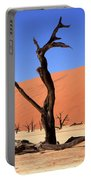 Dead Vlei Tree  Portable Battery Charger by Aidan Moran