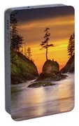Deadman's Cove At Cape Disappointment State Park Portable Battery Charger