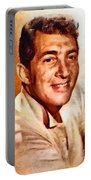 Dean Martin, Hollywood Legend By John Springfield Portable Battery Charger
