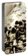 Death In The Time Of The Irish Famine Portable Battery Charger