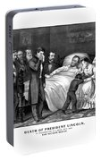 Death Of President Lincoln Portable Battery Charger