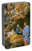Death Of Saint Joseph Portable Battery Charger