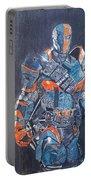 Deathstroke Illustration Art Portable Battery Charger