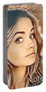 Debby Ryan Golden Beauty Portable Battery Charger