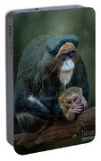 Debrazza's Monkey And Baby Portable Battery Charger