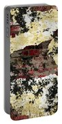 Decadent Urban Red Bricks Painted Grunge Abstract Portable Battery Charger