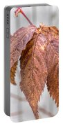 December Leaves Portable Battery Charger