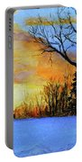 December Sunset Portable Battery Charger