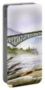 Deception Pass Bridge Portable Battery Charger