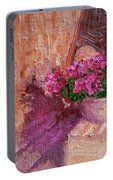 Deck Flowers #2 Portable Battery Charger