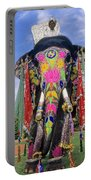 Decorated Indian Elephant Portable Battery Charger