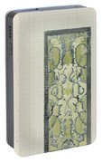 Decorative Design In Green And Blue, Carel Adolph Lion Cachet, 1874 - 1945 Portable Battery Charger