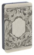 Decorative Design With Angels, Carel Adolph Lion Cachet, 1874 - 1945 Portable Battery Charger