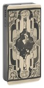 Decorative Design With Four Coats Of Arms, Carel Adolph Lion Cachet, 1874 - 1945 Portable Battery Charger