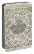Decorative Design With Leaf Motif, Carel Adolph Lion Cachet, 1874 - 1945 Portable Battery Charger
