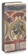 Decorative Design With Two Signatures, Carel Adolph Lion Cachet, 1874 - 1945 Portable Battery Charger