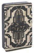 Decorative Design With Two Stylized Lions, Carel Adolph Lion Cachet, 1874 - 1945 Portable Battery Charger