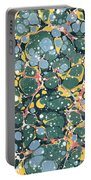 Decorative Endpaper Portable Battery Charger