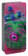 Decorative Pink Bottle Portable Battery Charger