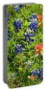 Decorative Texas Bluebonnets Meadow Digital Photo G33117 Portable Battery Charger