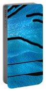 Deep Blue Portable Battery Charger by Ben and Raisa Gertsberg