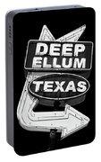 Deep Ellum Texas Portable Battery Charger