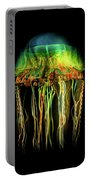 Deep Sea Fascination Portable Battery Charger by Karen Wiles